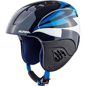 Alpina Carat Casco de esquí Niños, nightblue